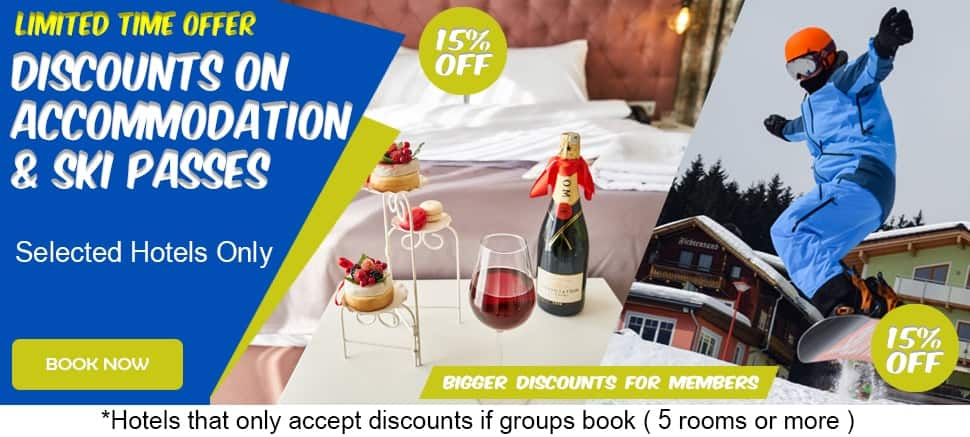 limited time offer discounts on selected hotels