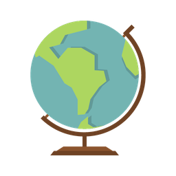 travel globe icon